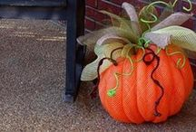 deco mesh crafts / by Janice Gibson