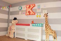 Nursery room ideas / DIY, budget, gender neutral