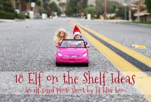 Elf on shelf / by Melissa Gentz