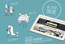 Hochzeits-Location.Info / Interne Grafiken, Bilder und Informationen über die Plattform hochzeits-location.info
