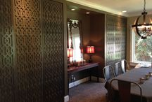 Interior Designs / Just a few pins of our interior work with our lattice panels. You would be shocked at all the things you can do with Lattice.