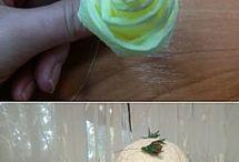 výroba růží