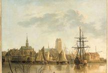 torens in de schilderkunst