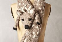 Шапки,шарфы и др вязанки...