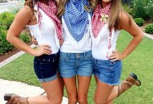 BARN DANCE OUTFITS