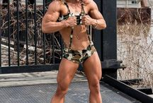 Female Bodybuilder / Female Bodybuilder with huge muscles and lovely faces.