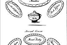 My Regency World - Food and Dining / For more Regency World information, go to: http://www.lesleyannemcleod.com/regencyworld.html