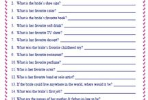 Bridal shower/bachelorette ideas / by Nicole Miller