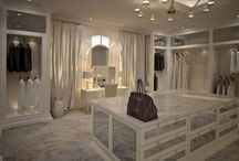 Walk in closet, vanity and office