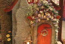 miniature cottages