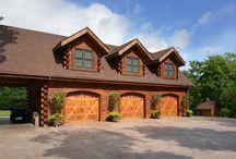 Log Garages / Garages for log homes