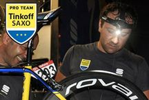 Sponsorship / We are proud to provide Team Tinkoff Saxo with our premium products, competing in several races around the world. They only use the best gear and technology available, and to optimize their training especially at night and in the evenings, it is important for the riders to have the best possible light.