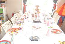 anniversaire cirque / Anniversaire 6 ans sur le hème du cirque  Sur le blog  : http://wp.me/p3XdGd-PY