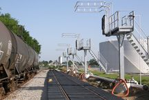 Railcar Loading Platforms / Railcar #loading platforms for the safe loading and #unloading of #bulk liquid products in the oil, gas and petrochemical industries