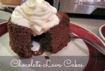 Gooey Chocolate Cakes