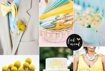 Theme color ideas / 2017 Wedding