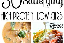 high protein low carb low salt recipes