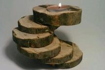 rondel lemn