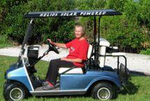 Solar Powered Golf Cart Roof Kit / Solar Powered Golf Carts
