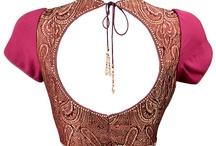 My style love Designer blouses