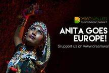 ANITA GOES TO EUROPE! / HELP ANITA TO PERFORM IN EUROPE ! MAKE HER DREAM BECOME REAL!