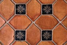 Pedrables™ Terra Cotta Collection / Country Floors proudly introduces Pedrables, inspired by the beautiful terra cotta floors from a 14th century monastery in Barcelona. Each tile is made according to centuries old traditional methods with carefully selected clays to ensure an incredibly reliable, high quality terra cotta. Choose between a supple pre-waxed finish or rustic matte finish.