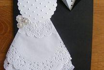 DIY Kort, bryllup