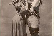 Vintage Western Couples Dress