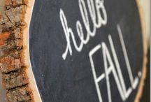Fall Decorating / Fall in Love with all the sugar and spice of the fall weather!