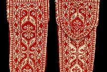 Ethnic knitted socks