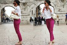 Looks and Outfits / Fashion; Please comment if you know the Brands and Websites! / by Andreia Franco