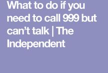 Emergency number tip