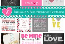 Valentine's Day Love / We've compiled the best ideas for expressing yourself in print this Valentine's Day. Spread the love!