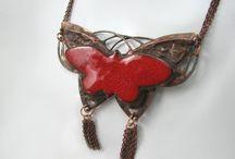 COPPER JEWELRY / JEWELLERY  / METAL WORK - biżuteria artystyczna z miedzi / Unique Copper Jewelry  | earrings | clips | necklaces | pendants | bracelets | rings