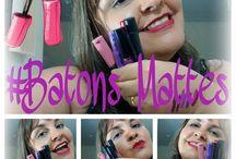 COMPARANDO BATONS LÍQUIDOS MATTES!!