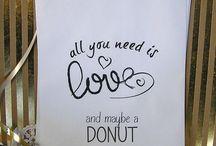 free from donut wedding