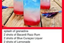 Fourth of July Adult Drinks / Really party like it's 1774 with these booztacular drinks.