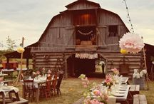 barn wedding / alles op het gebied van trouwen in een boerenschuur of op een erf.