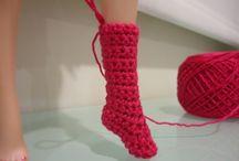 ropa crochet muñecas