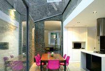 glazed links/courtyards