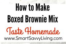 Brownies, Blondies & Bar Desserts Recipes / All sorts of recipes you make in a pan like brownie recipes and blondie recipes.