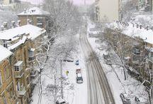 Зимние улицы