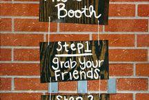 Photo booth ideas