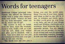 Words of wisdom  / by Alison Rowan