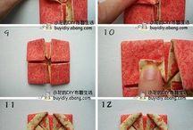 Origami tela