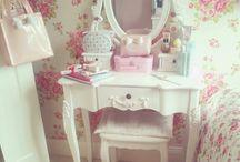 Bedroom Ideas / kawaii bedroom ideas, toys, cute, pastels, floral, girly, princess