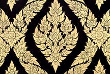 Inspiration: Siamese Patterns / Our designs are inspired by patterns from the Royal Courts of Siam