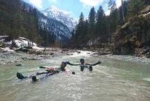 Rafting - Canyoning - Höhlenklettern