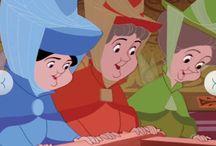 The Three Fairies of Sleeping Beauty
