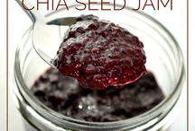 chia seeds / by Kim Teigen